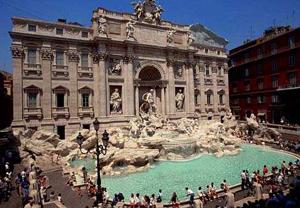 Fontana di Trevi, la fontana conosciuta in tutto il mondo