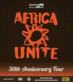 Africa Unite, il tour dei 30 anni