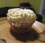 Muffins al cioccolato bianco
