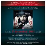 Con tutti i miei no, il libro di Fabrizio Cerusico al Sala Umberto di Roma