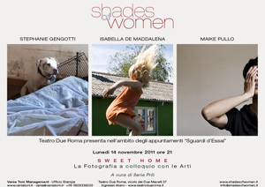 Le mostre fotografiche Shades of women al Teatro Due Roma teatro d'Essai
