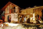 A Betlemme accanto alla grotta della nativita' c'e' il presepio del Trentino
