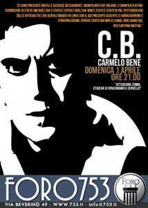 Evento in onore di Carmelo Bene