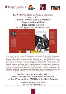 Una guerra a parte, il libro di Elena Aga Rossi e di Maria Teresa Giusti
