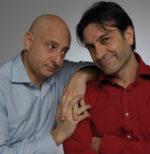 Andrea Bove ed Enzo Limardi in Per fare chiarezza al Sala Umberto di Roma
