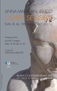 Corpi sensibili, la mostra di Anna Maria Angelucci alla Galleria Rilievi Contemporary Art di Roma