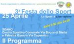 Festa dello Sport, appuntamento il 25 aprile a Carmignano Prato