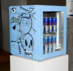 Red Bull Curates Canvas Cooler, L'arte va al fresco