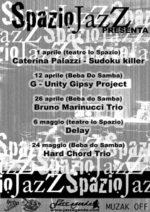 Spazio Jazz prosegue al Beba do Samba i G Unity in concerto