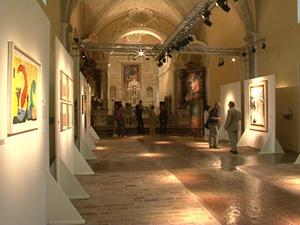 La Pop Art incanta nella Chiesa di San Barnaba