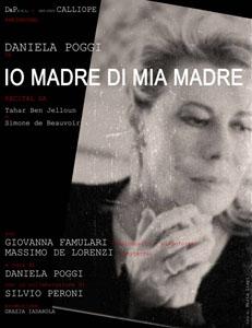 Io madre di mia madre, il recital con Daniela Poggi al Teatro Ghione di Roma