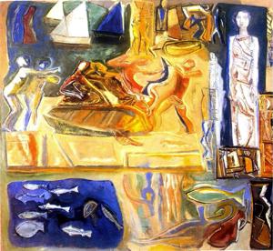 Asta della collezione d'arte della societa' di navigazione Tirrenia