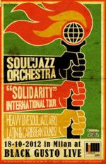 Black Gusto Live di Milano presenta The Souljazz Orchestra