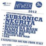 Hit Week prosegue il tour negli States
