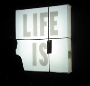 Il Respiro della Luce, Targetti Light Art Collection, la mostra in corso al Palazzo Bissari a Vicenza