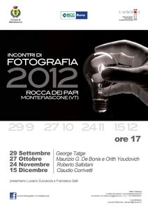 Incontri di fotografia 2012, al via quattro appuntamenti impedibili