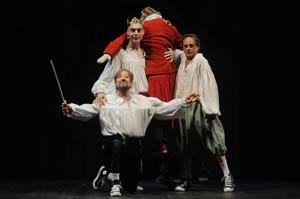 Zuzzurro' Gaspare in tutto Shakespeare in 90 minuti al Sala Umberto di Roma