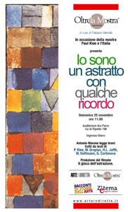 Io sono un astratto con qualche ricordo. Un racconto sulla mostra Paul Klee e il viaggio in Italia