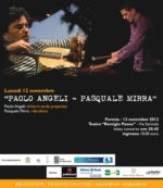 Jazzflirt festival, ultimo appuntamento di questa edizione con Paolo Angeli e Pasquale Mirra