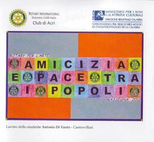 Rotary per l'arte, la mostra in corso negli spazi di Palazzo Arnone di Cosenza