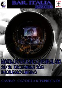 Mostra fotografica, Janula Jazz Festival al via