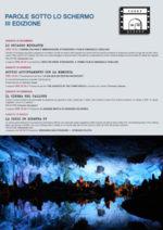 Parole sotto lo schermo, al via la terza edizione al Teatro Bertolt Brecht di Formia