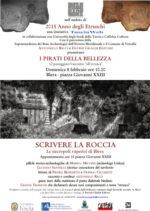 Scrivere la roccia. Le necropoli rupestri di Blera. Appuntamento a Blera in piazza Giovanni XXIII