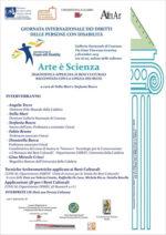 Arte è Scienza – Diagnostica applicata ai beni culturali raccontata con la Lingua dei Segni
