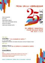 Venticinque aprile al Teatro Remigio Paone mostra, film, musica e degustazioni per non dimenticare