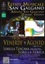 Sorella Toscana incontra sorella Africa. Concerto di beneficenza per il Burkina Faso