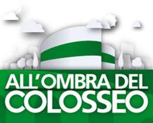Pino Insegno e Roberto Ciufoli con lo spettacolo Vieni Avanti Cretino al Parco del Celio di Roma