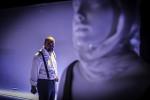 Antigone, lo spettacolo ideato interpretato e diretto da Julia Borretti e Titta Ceccano in scena a Teatro Bertolt Brecht di Formia