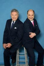 Antonio Catania e Gianluca Ramazzotti in Il prestito al Teatro Sala Umberto di Roma