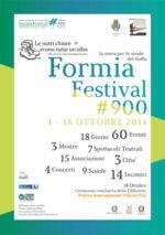 Aspettando il Formia Festival '900. La storia tra le strade del golfo dal 1 al 18 Ottobre