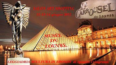 Le Carrousel du Louvre – Musèe du Louvre – Parigi, Colagrossi con l'esposizione di Leggiadria