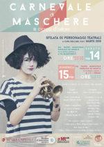 Carnevale di maschere in cerca d'autore, sfilata di personaggi teatrali nelle strade e nelle piazze di Roma