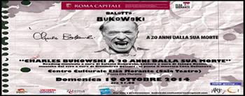 Charles Bukowski a 20 anni dalla sua morte, il reading musicale segnalato al Teatro Elsa Morante di Roma