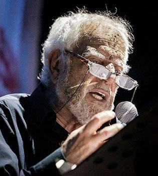 Cosimo Cinieri in Pier Paolo Poeta Delle Ceneri al Teatro Argentina di Roma