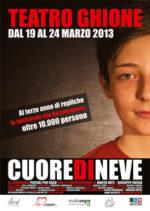 Cuoredineve, in scena la Compagnia dei Piccoli per caso al Teatro Ghione di Roma