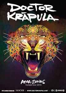 Dalla Colombia a Bologna, I Doctor Krapula nel tour in difesa dell'Amazzonia sul palco palco del BOtanique