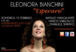 Tra New York e Ecuador, Eleonora Bianchini live a Roma con il suo Esperare
