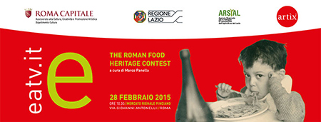 Eatv.It – The Roman Food Heritage Contest ai nastri di partenza
