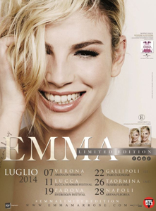 Emma, a luglio i 6 concerti speciali Emma Limited Edition e Rufus Wainwright ospite del concerto al Lucca Summer Festival