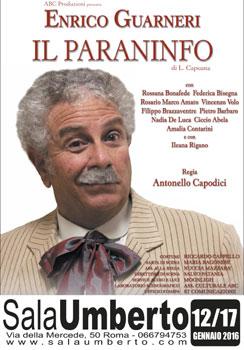 Enrico Guarneri in il Paraninfo al Sala Umberto di Roma