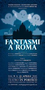 Fantasmi a Roma, la commedia in scena al Teatro In Portico di Roma