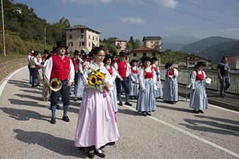58^ Edizione Festa dell'uva di Verla di Giovo al via