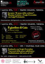 L'audiodramma a Incroci di civiltà 2014. Festival Internazionale di Letteratura a Venezia al via al Teatro Goldoni
