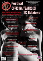 Festival Officina Teatro XI, al via la IX edizione al Teatro Municipale Pasquale De Angelis di Roma