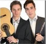 Filippo Del Noce ed Edoardo Pieri, flauto & chitarra, in concerto a la Galleria d'Arte Moderna di Roma