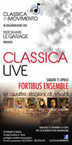 Classicalive: Le Quattro Stagioni di Vivaldi a Le Garage di Roma!
